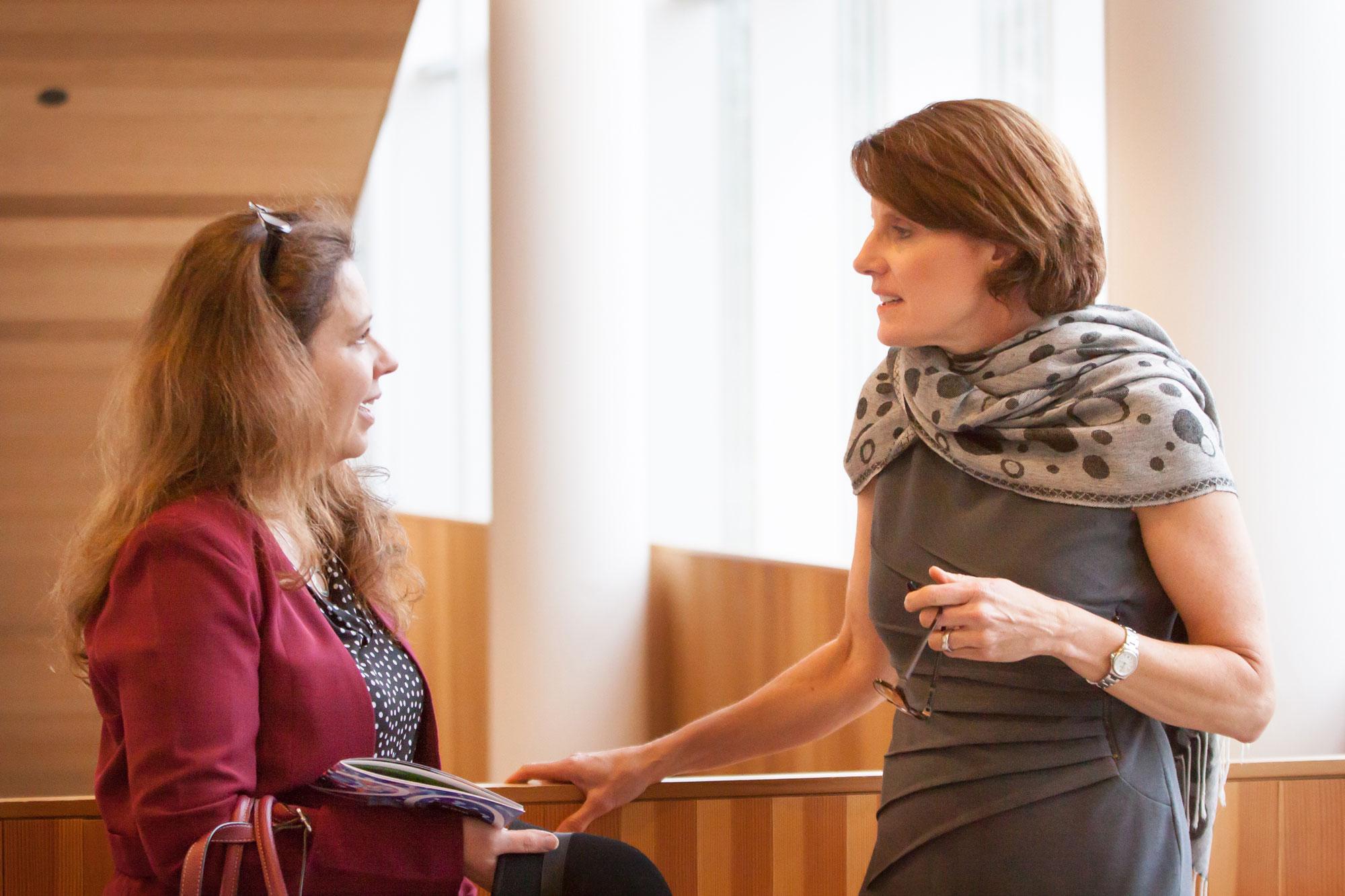Dr. Liisa Galea and Dr. Lara Boyd.